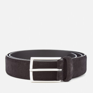 Andersons Men's Suede Belt - Black