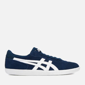 Asics Lifestyle Men's Precussor TRS Suede Court Trainers - Peacoat/White