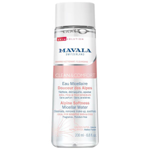 Mavala Clean & Comfort Alpine Softness Micellar Water 200ml