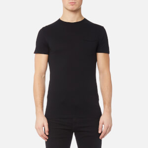 Superdry Men's Lite Loomed Pocket Short Sleeve T-Shirt - Black