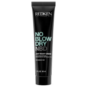 Redken No Blow Dry Just Right Cream for Medium Hair 1 oz (Free Gift) - US