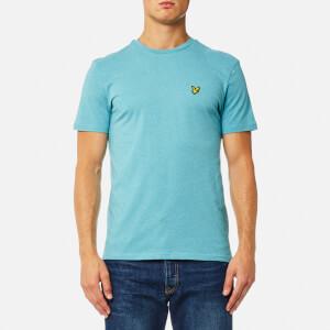 Lyle & Scott Men's Crew Neck T-Shirt - Aqua Green Marl