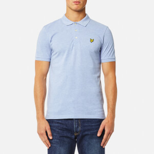 Lyle & Scott Men's Polo Shirt - Blue Marl