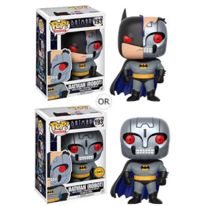 Figurine Pop! Batman Série Animée Batman Robot avec Variante
