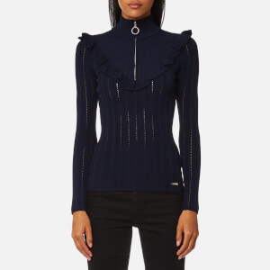 Guess Women's Long Sleeve Lucia Sweatshirt - Deep Indigo