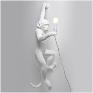 Seletti Hanging Monkey Lamp - White