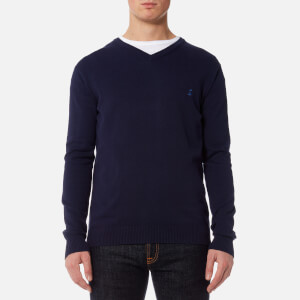 Joules Men's Retford V-Neck Jumper - French Navy