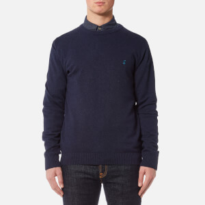 Joules Men's Retford Crew Neck Jumper - French Navy Marl