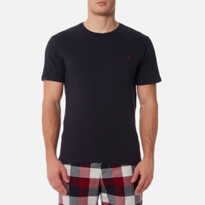 Joules Men's Short Sleeve Plain Crew Neck T-Shirt - French Navy
