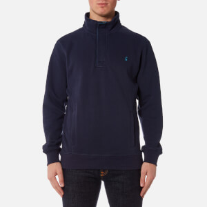 Joules Men's Oakhurst Half Zip Sweatshirt - French Navy