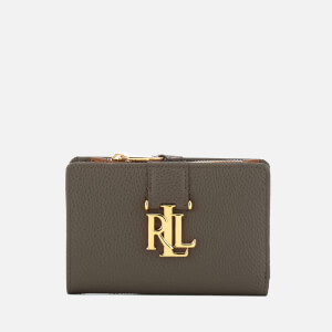 Lauren Ralph Lauren Women's Carrington New Compact Wallet - Falcon