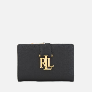 Lauren Ralph Lauren Women's Carrington New Compact Wallet - Black