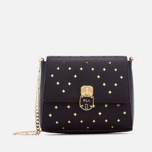 Lauren Ralph Lauren Women's Skyler Cross Body Bag - Black/Gold