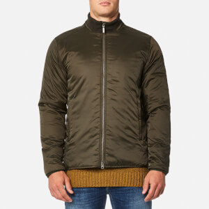 Barbour International Men's Gabion Quilt Jacket - Olive