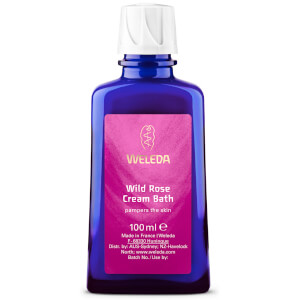 Weleda Wild Rose Bath Cream 100ml: Image 1