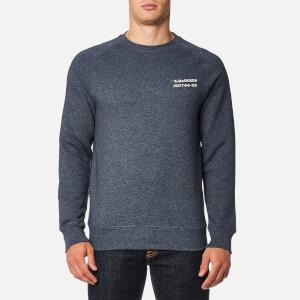 Barbour X Steve McQueen Men's Issue Crew Sweatshirt - Navy