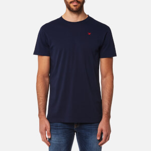 Hackett Men's Short Sleeve Logo T-Shirt - Navy