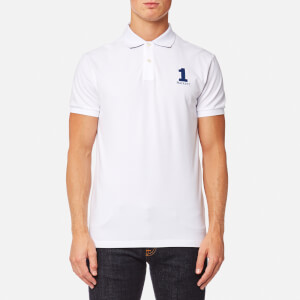 Hackett Men's New Classic Short Sleeve Polo Shirt - White