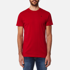 Hackett Men's Short Sleeve Logo T-Shirt - Red