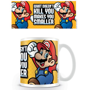 Super Mario Coffee Mug (Makes You Smaller)