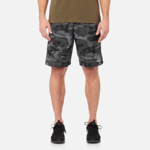 Reebok Men's Speedwick Camo Knit Shorts - Black