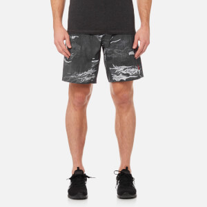 Reebok Men's CrossFit Speed Camo Board Shorts - Black