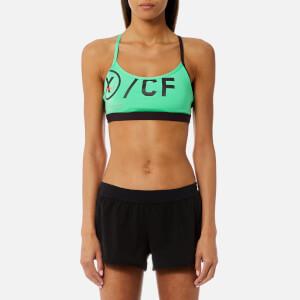 Reebok Women's CrossFit Strappy Sports Bra - Bright Emerald