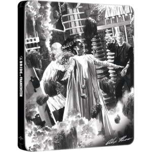 Frankensteins Braut: Alex Ross Kollektion - Zavvi UK Exklusives Limited Edition Steelbook