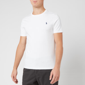 Polo Ralph Lauren Men's Custom Slim Fit Cotton T-Shirt - White