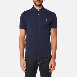 Polo Ralph Lauren Men's Custom Fit Polo Shirt - Newport Navy