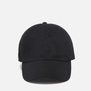 Polo Ralph Lauren Men's Large Logo Cap - Black