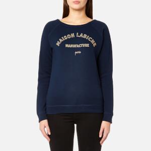 Maison Labiche Women's Manufacture Sweatshirt - Bleu Marine