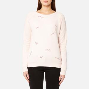 Maison Labiche Women's Megalove Sweatshirt - Rose Chine