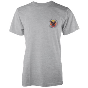Native Shore Men's Surf Vibe Pocket Print T-Shirt - Light Grey Marl