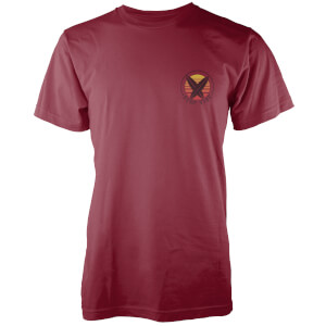 Native Shore Men's Surf Vibe Pocket Print T-Shirt - Burgundy