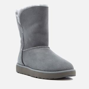UGG Women's Classic Cuff Short Sheepskin Boots - Geyser: Image 2