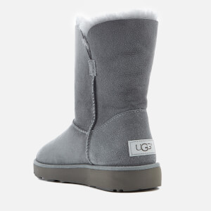 UGG Women's Classic Cuff Short Sheepskin Boots - Geyser: Image 4