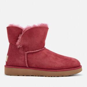 UGG Women's Classic Cuff Mini Sheepskin Boots - Garnet