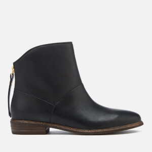UGG Women's Bruno Leather Ankle Boots - Black