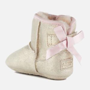 UGG Babies' Jesse Bow II Metallic Pre-Walker Boots - Gold: Image 4