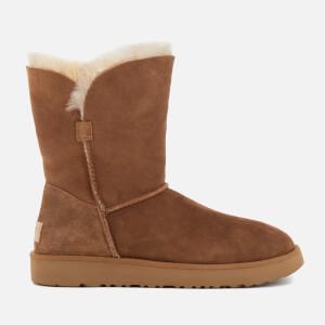 UGG Women's Classic Cuff Short Sheepskin Boots - Chestnut