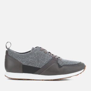 UGG Men's Trigo Hyperweave Runner Trainers - Dark Charcoal