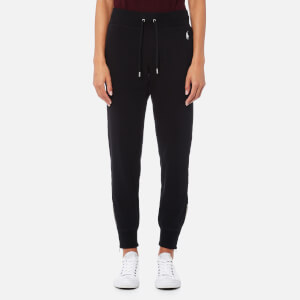 Polo Ralph Lauren Women's Pants with Ankle Zip - Black