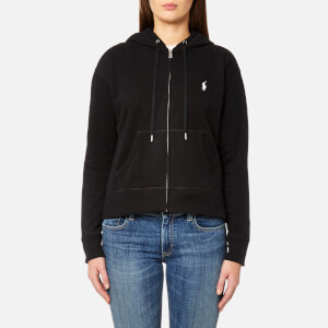 Polo Ralph Lauren Women's Hooded Pull Zip Hoody - Black