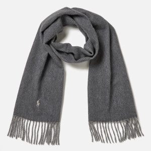 Polo Ralph Lauren Women's Reversible Scarf - Grey