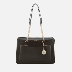 DKNY Women's Sutton Top Zip Tote Bag - Black