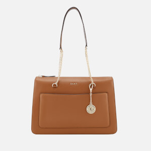 DKNY Women's Sutton Top Zip Tote Bag - Camel