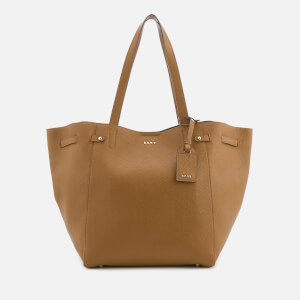 DKNY Women's Chelsea Pebbled Leather Large Tote Bag - Camel