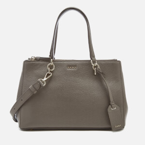 DKNY Women's Chelsea Pebbled Leather Small Shopper Bag - Stone