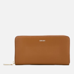 DKNY Women's Sutton Large Zip Around Purse - Camel
